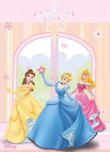 disney-princess-wall-mural