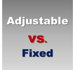adjustable rate