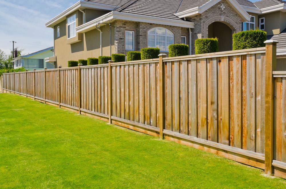 adding a fence